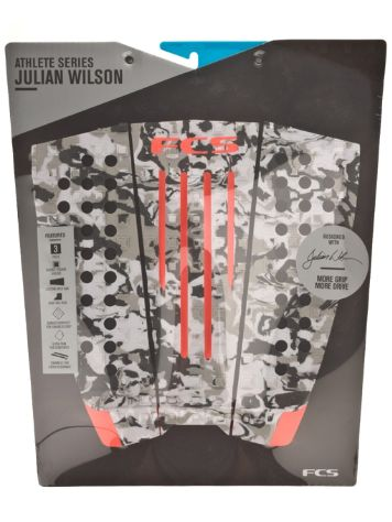 FCS Julian Wilson Grey Camo/Blood Orange Pad