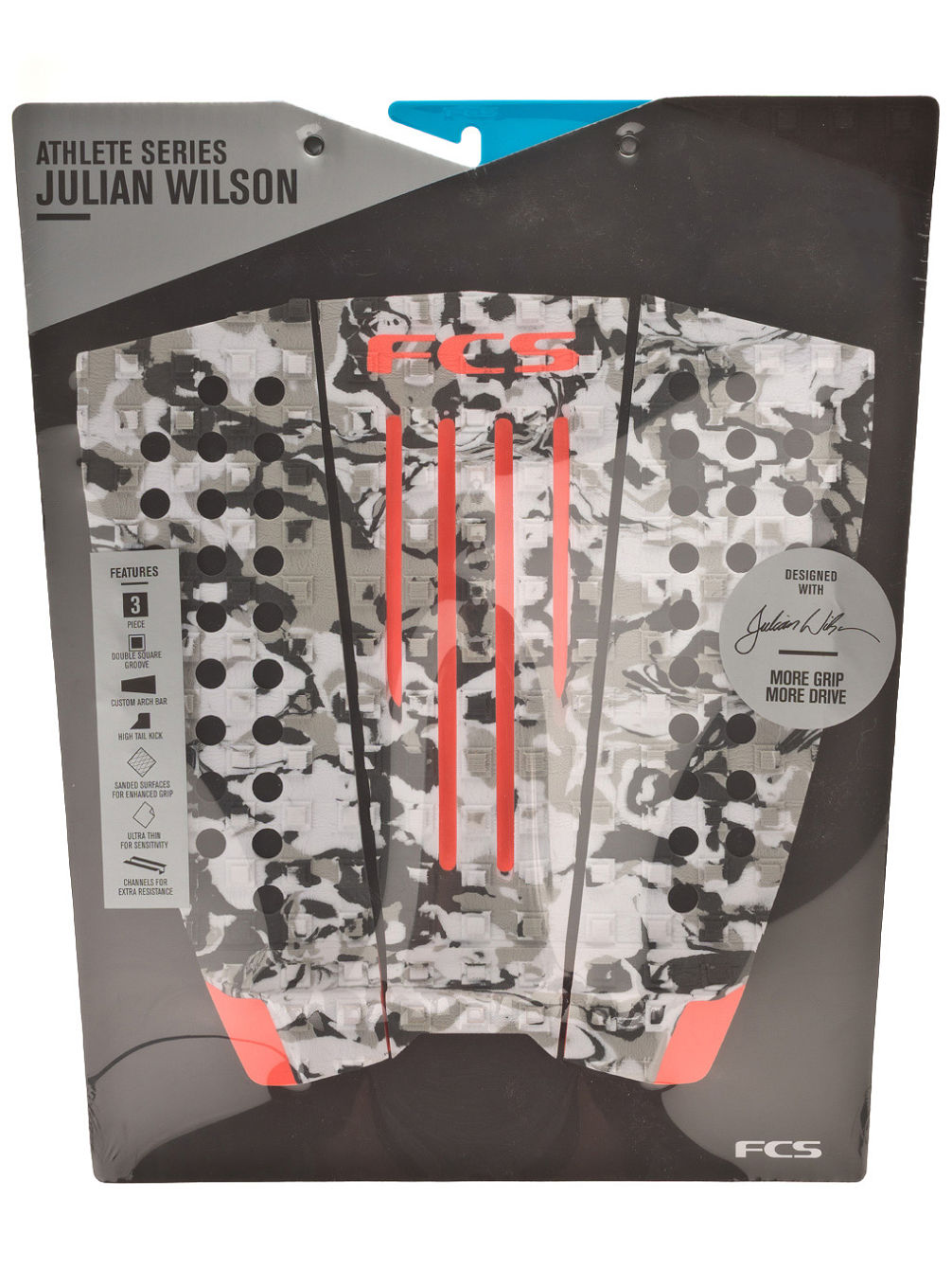 Julian Wilson Grey Camo/Blood Orange Tra