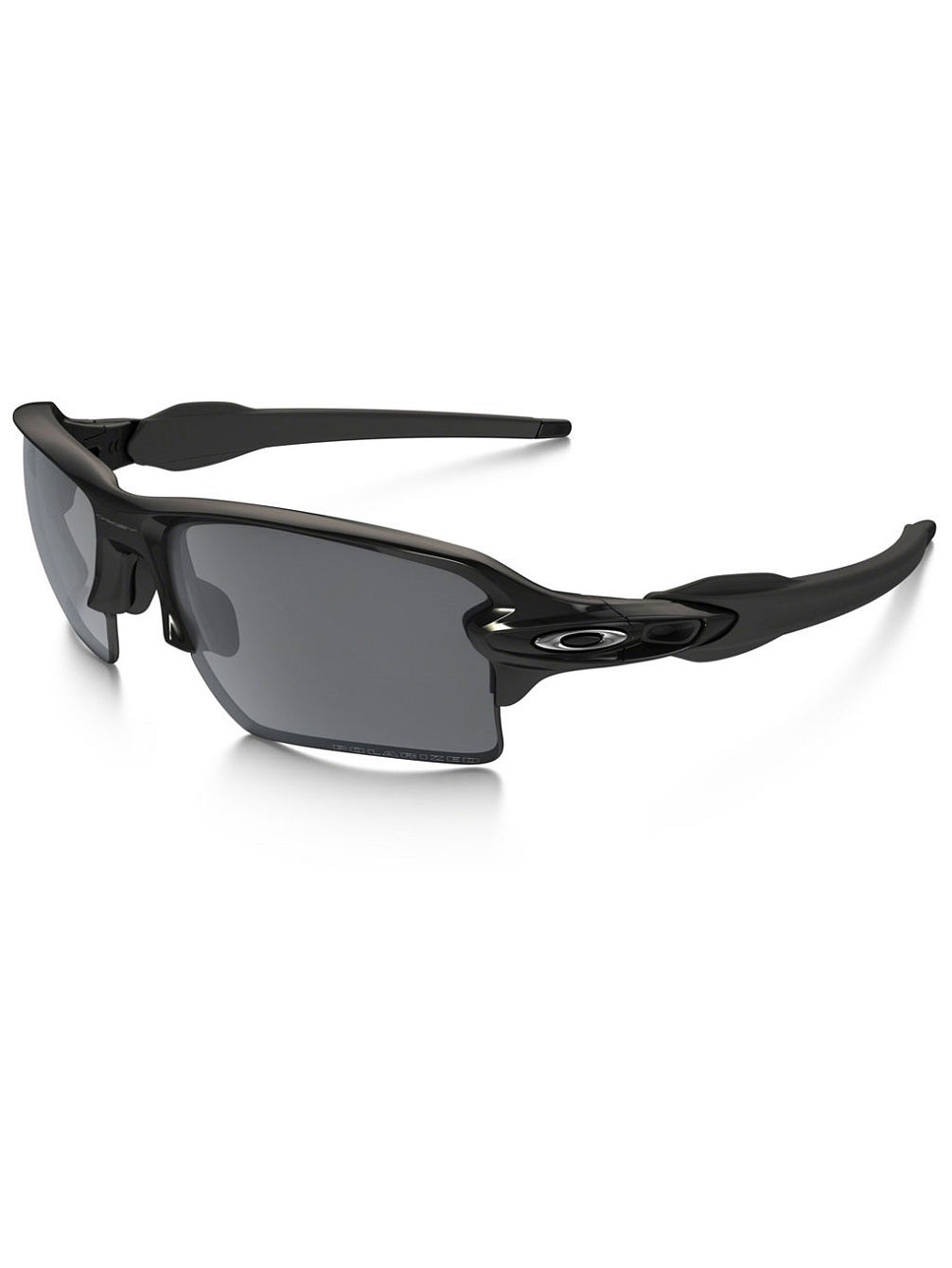 Flak 2.0 Xl Polished Black Sonnenbrille