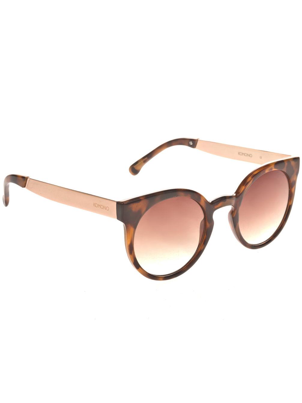 Köp Komono Lulu Metal Tortoise Rose Gold Solglasögon online på blue ... 890b7880036a9