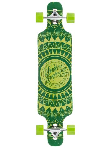 "Mindless Longboards Sanke Drop Through II Longboard 39"" x 9."