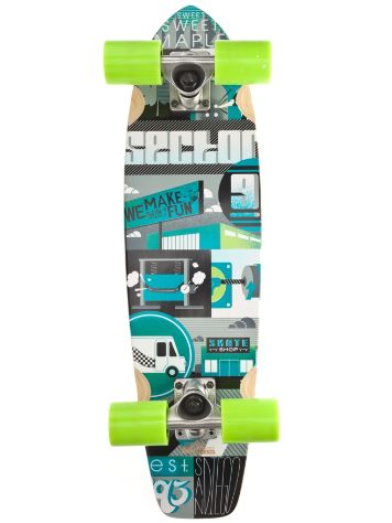 "Sector 9 Dart 7.5"" X 27.8"" Green Complete"