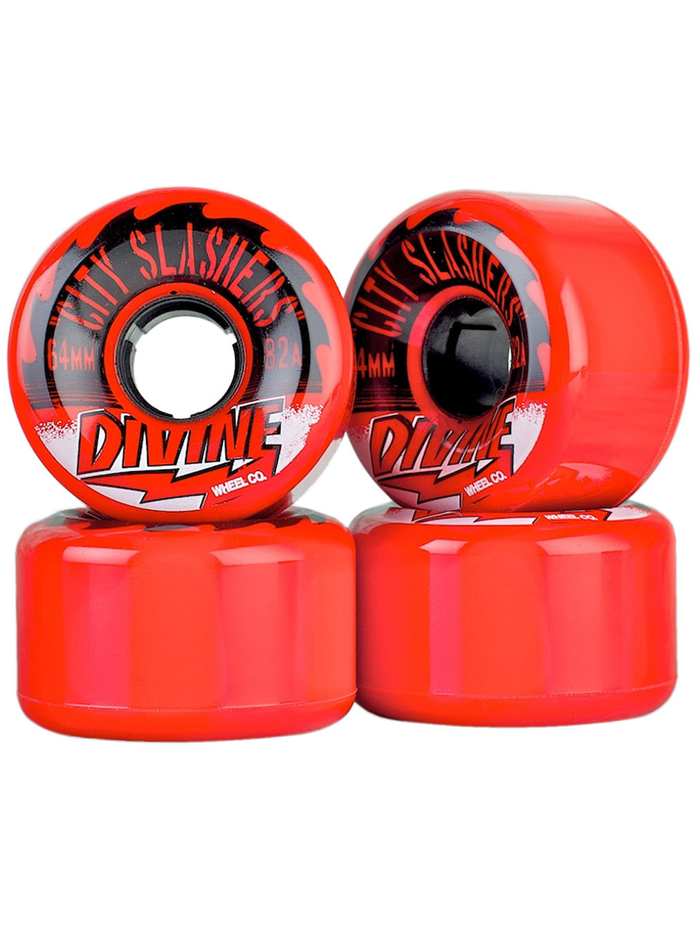 City Slashers 82A 64mm Longboard Wheels