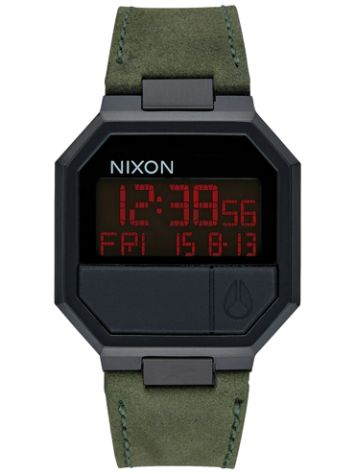 Nixon The Re-Run Leather Reloj