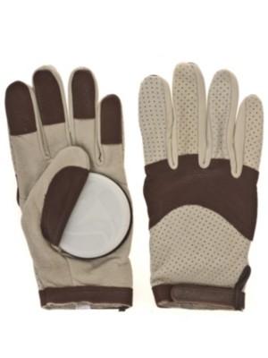Landyachtz Burley Leather Slide Gloves beige Gr. M