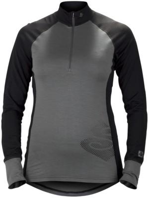 Sweet Protection Alpine Halfzip 17,5/200 Tech Tee LS gray / black Gr. L