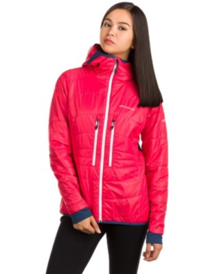 Ortovox Swisswool Light Tec Lavarella Fleece Jacket hot coral Gr. XL