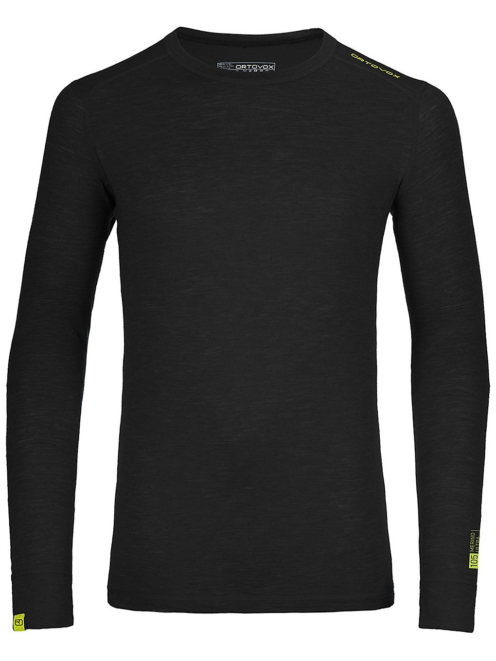 Ortovox 105 Ultra Tech Tee LS black raven