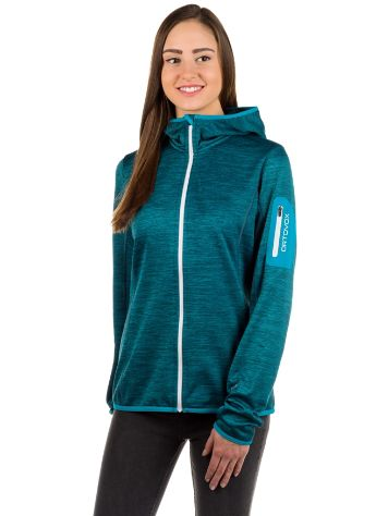 Ortovox Melange Hooded Fleecejacke