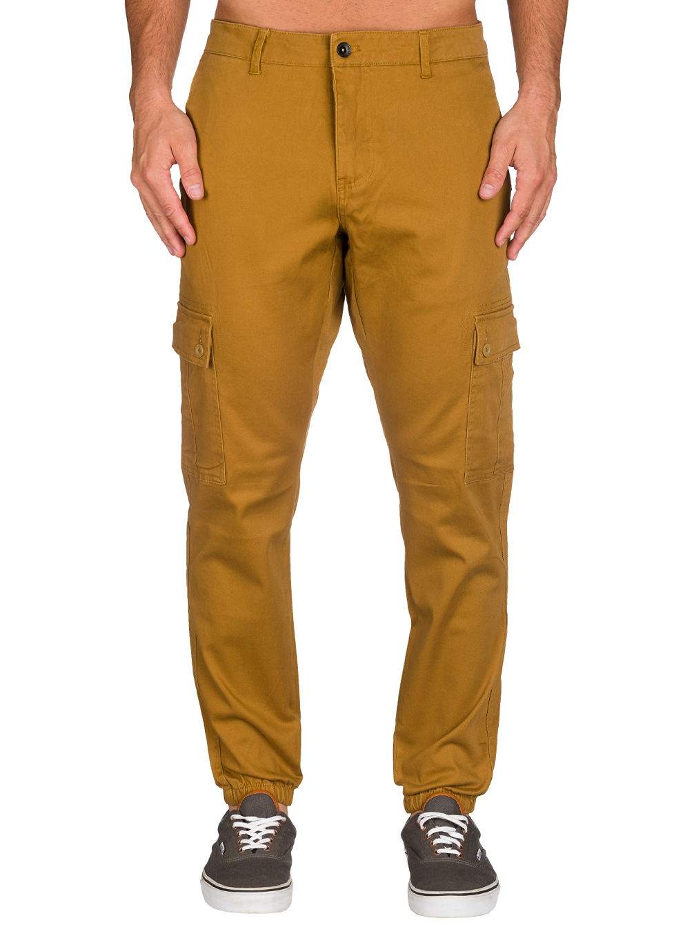 Freight Cargo Twill Jogger Pants