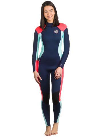 Buy Rip Curl Dawn Patrol 4 3Gb Chest Zip Wetsuit online at blue ... 4a2666d5f316