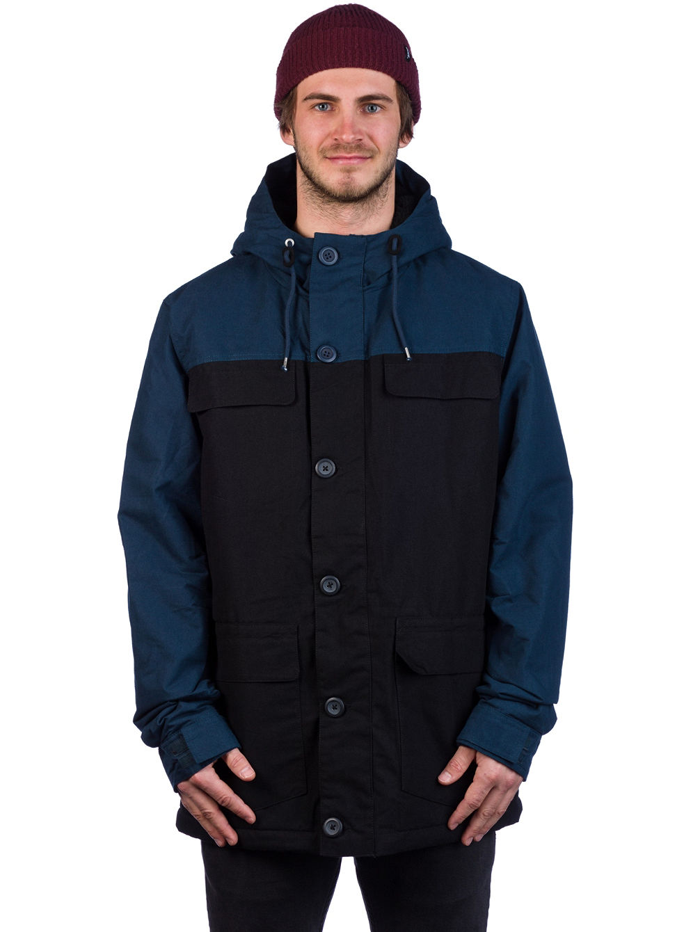 Goodstock Blocked Parka Jacket