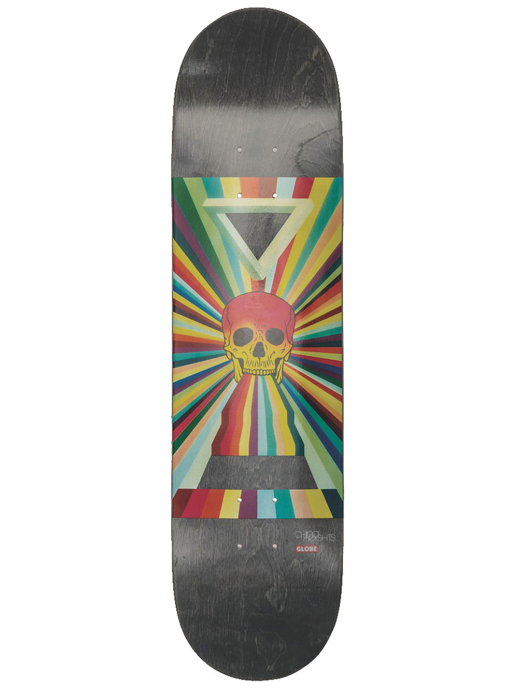 "China Heights 8.0"" x 31.6"" Skate Deck"