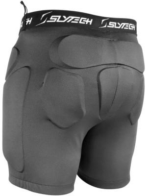 Slytech Shorts Multipro Noshock XT Mini Youth black / blue Gr. XS