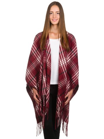 Empyre Maggie Cream And Burg Plaid Cardigan