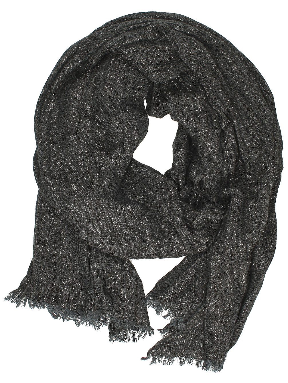 Leanne Heathered Lurex Scarf