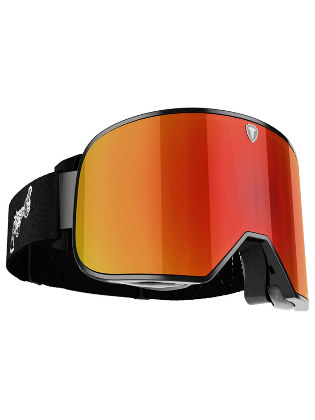 Savage Level 7 Black/White Non Violence Goggle