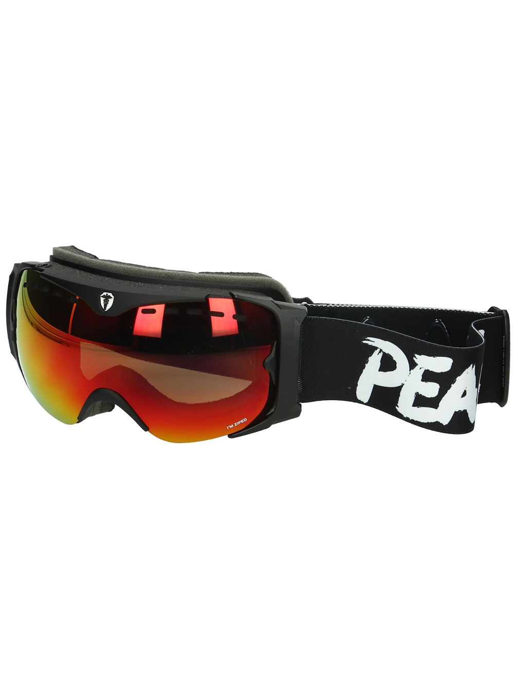 Guard Level 6 Black/White Non Violence Goggle