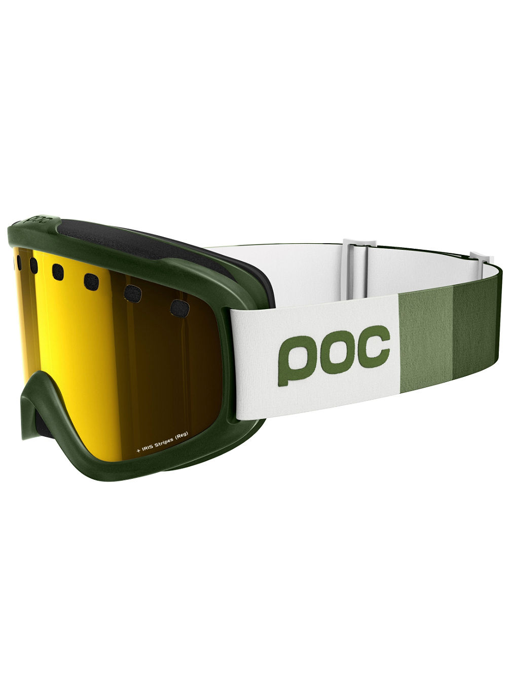 Iris Stripes Methane Green Goggle