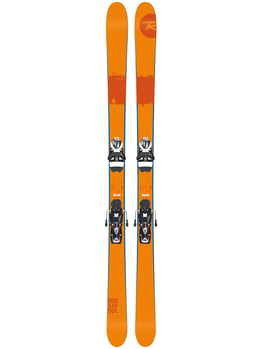 Scratch 167 + SPX12 Dual WTR B90 Black/  White 2017 Freeski-Set