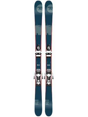 Rossignol Scratch Pro Jr 148 + NX JR B83 Black/Whi Black/White 2017 Yo Freeski-Set