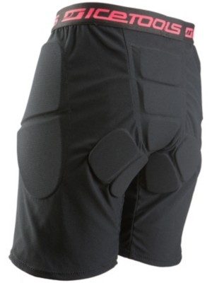 Icetools Underpants black / coral Gr. XS