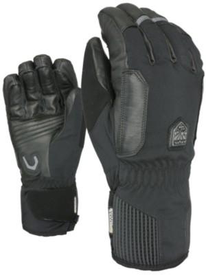 Level Off Piste Short Gloves black Gr. 7.5 US