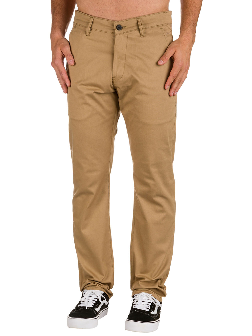 Straight Flex Chino Pants