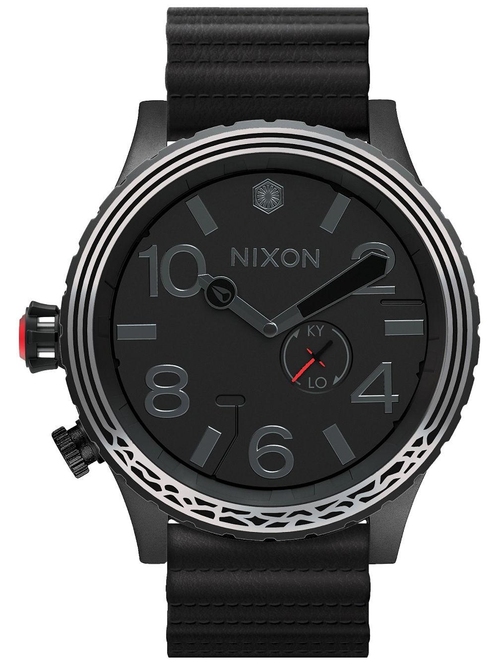 nixon the 51 30 leather star wars uhr online kaufen bei blue. Black Bedroom Furniture Sets. Home Design Ideas