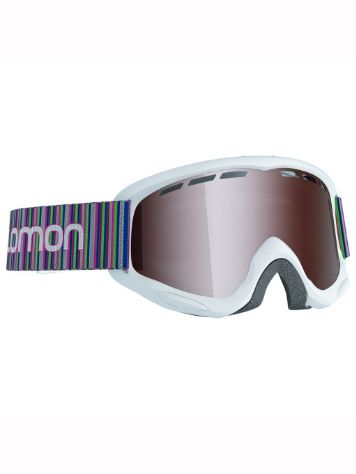 Salomon Juke White Youth Goggle jongens