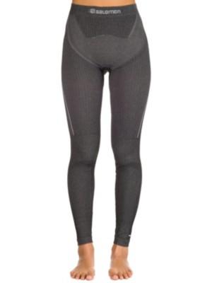 Salomon Primo Warm Tight Tech Pants black Gr. L