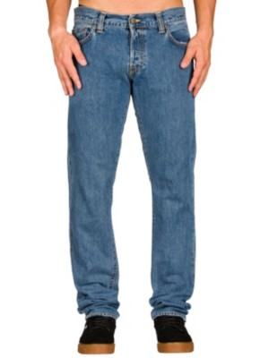 Carhartt WIP Buccaneer Jeans blue stone washed Gr. 36/34