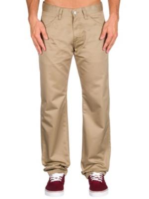 Carhartt WIP Skill Pants leather rinsed Gr. 30/32
