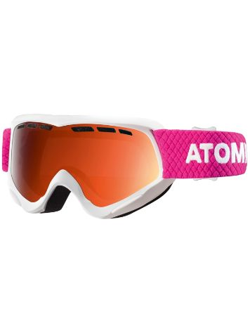 Atomic Savor White Youth Goggle jongens