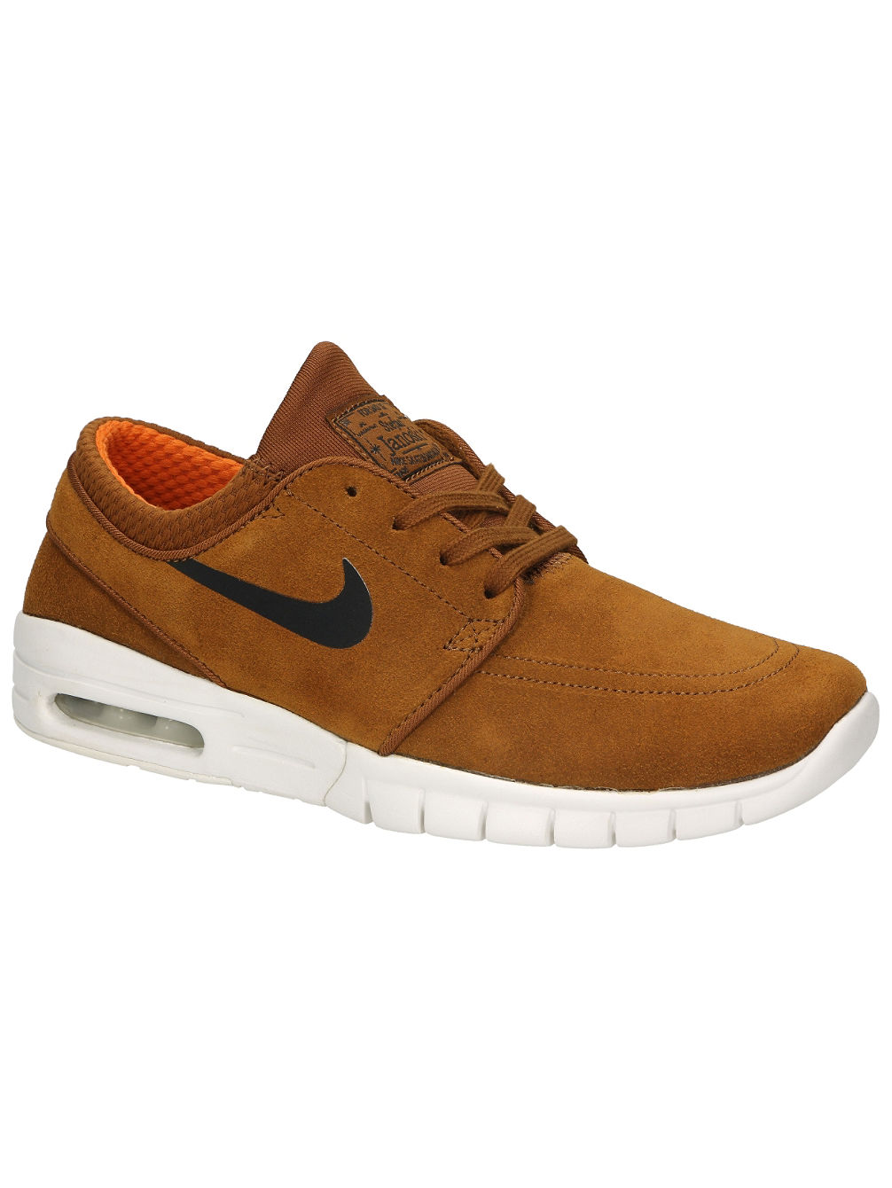 online store 537bf c561f Stefan Janoski Max Leather Sneakers. Nike