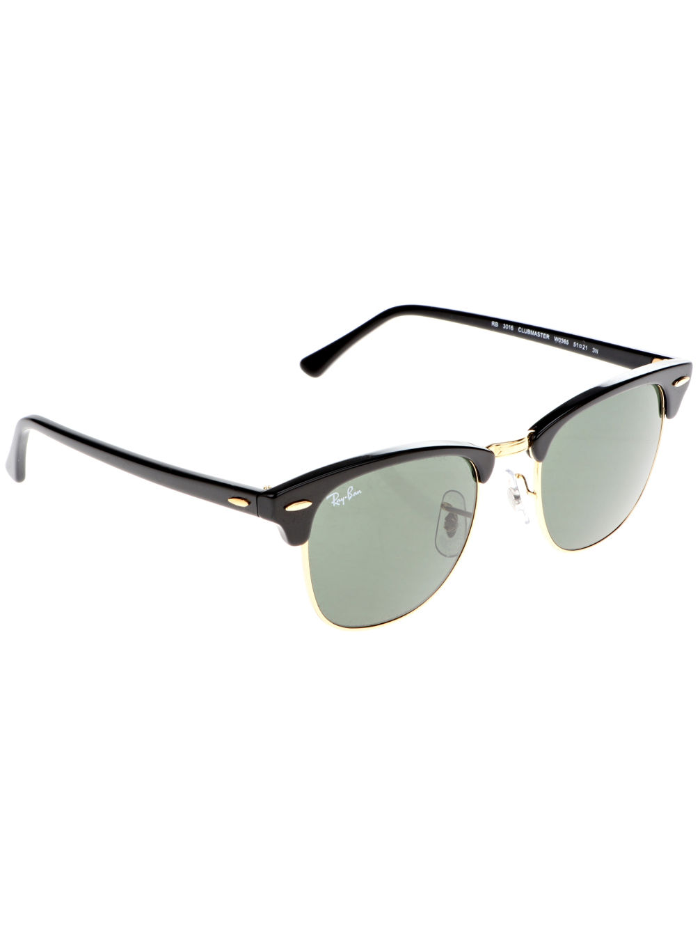 Clubmaster Ebony/Arista Iconic Sonnenbrille