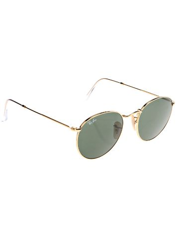 Ray Ban Round Metal Arista Iconic Sonnenbrille