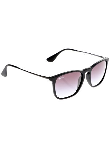 Ray-Ban Chris Rubber Black Sonnenbrille