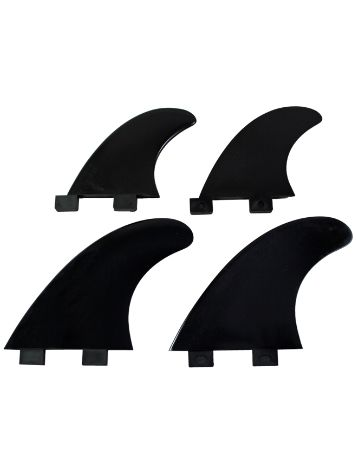 Northcore FCS Compatible Nylon Quad Finne Set