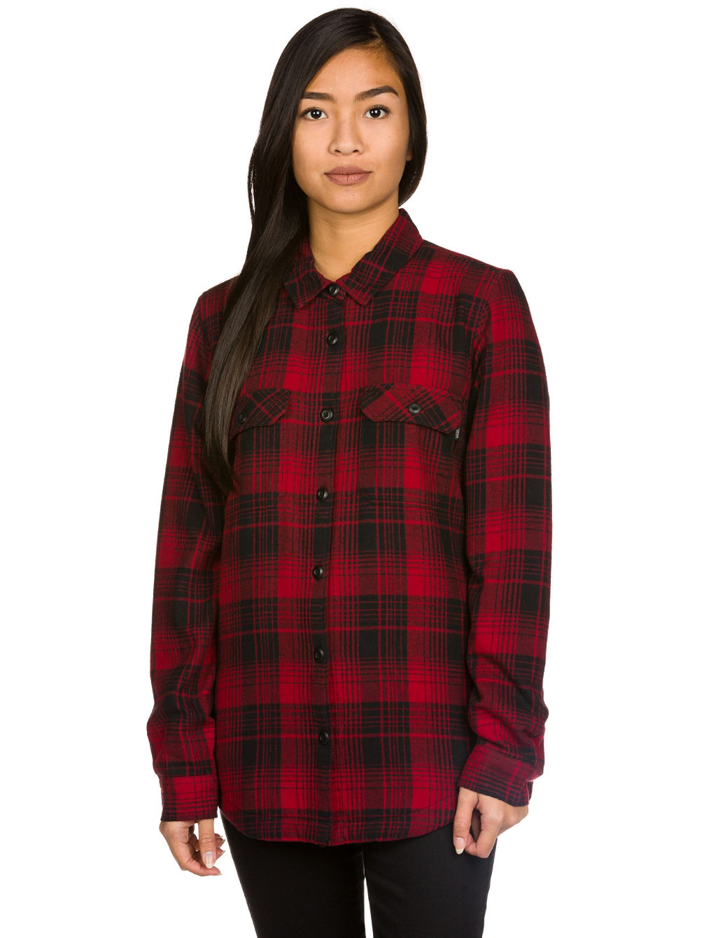 White Owl Flannel Hemd