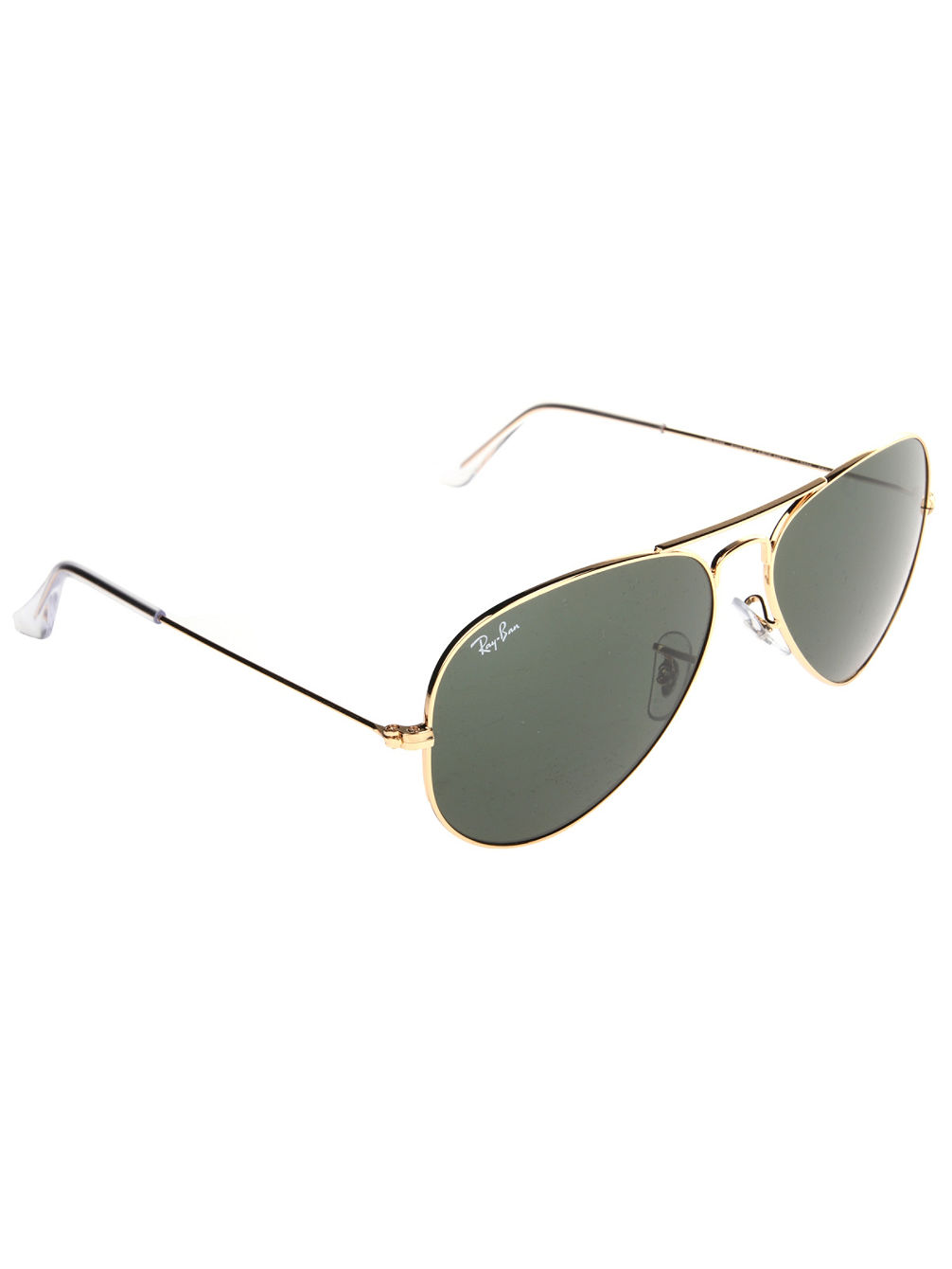 Aviator Large Metal Gold Solid Sonnenbrille