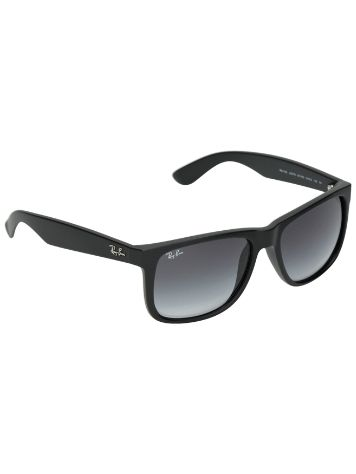 Ray-Ban Justin Rubber Black PolyGreyGradient Lunettes de Soleil