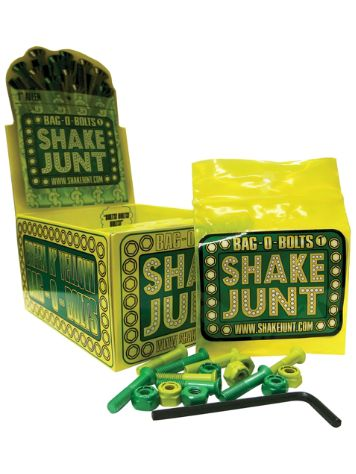 Shake Junt All Green Yellow Inbus 1'' Bolts