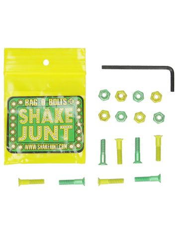 "Shake Junt All Green Yellow Inbus 7/8"" Schrauben"
