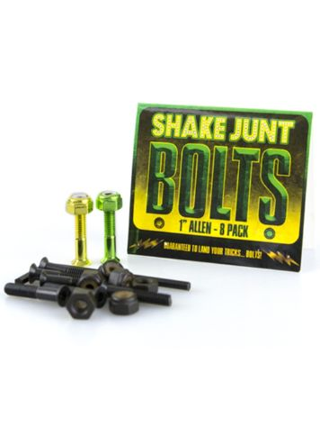 "Shake Junt Green Yellow Inbus 1"" Bolts"