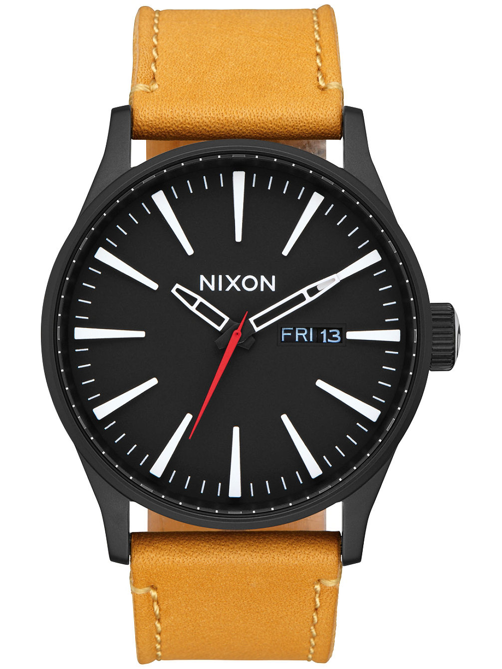 The Sentry Leather Reloj