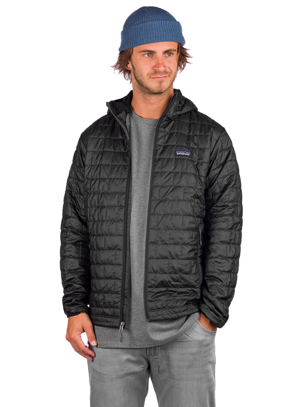 Nano Puff Hooded Puffer Jakke