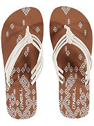 3 Strap Ditsy Sandals Women