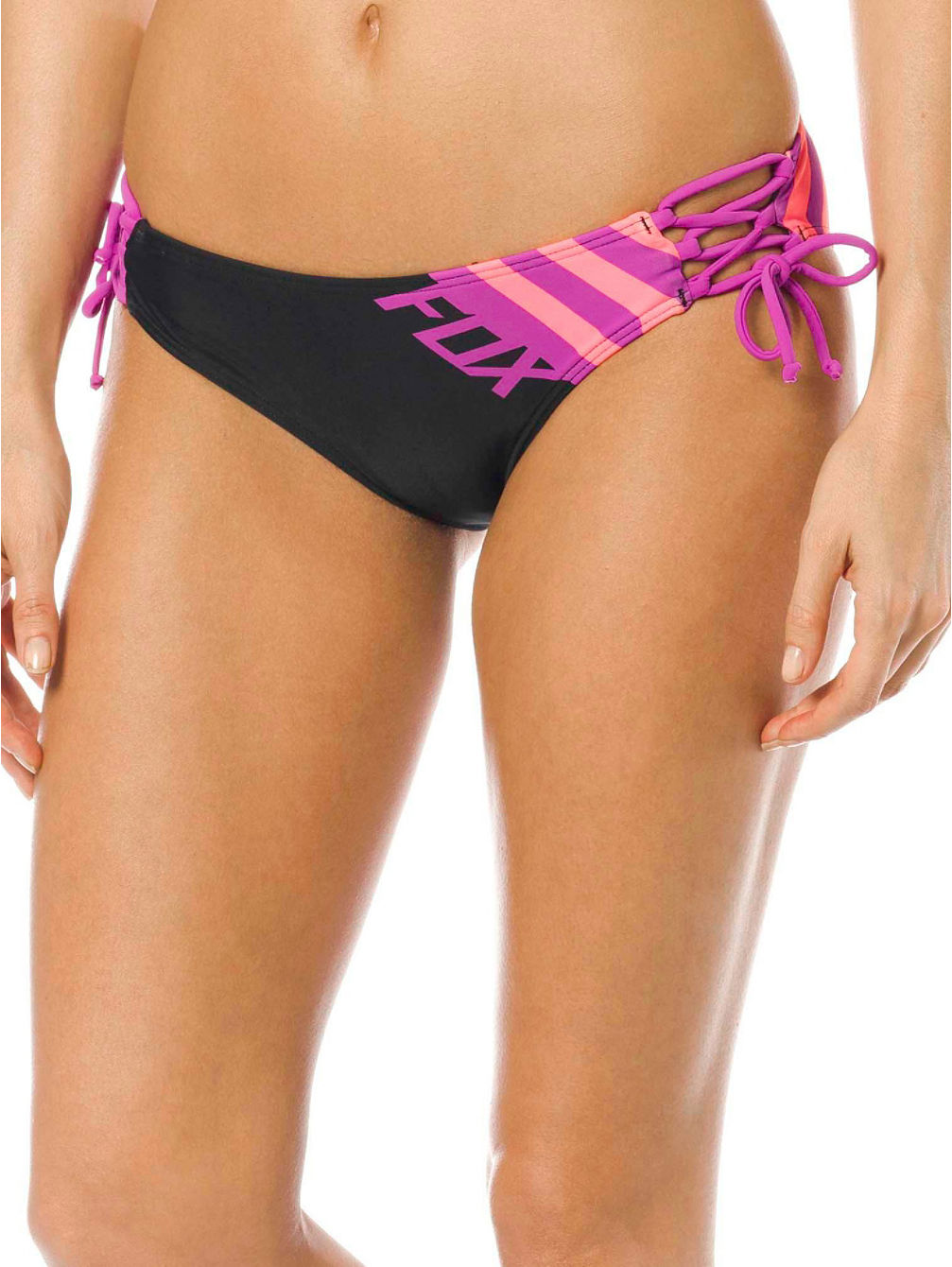 Cozmik Lace Up Side Tie Bikini Bottom