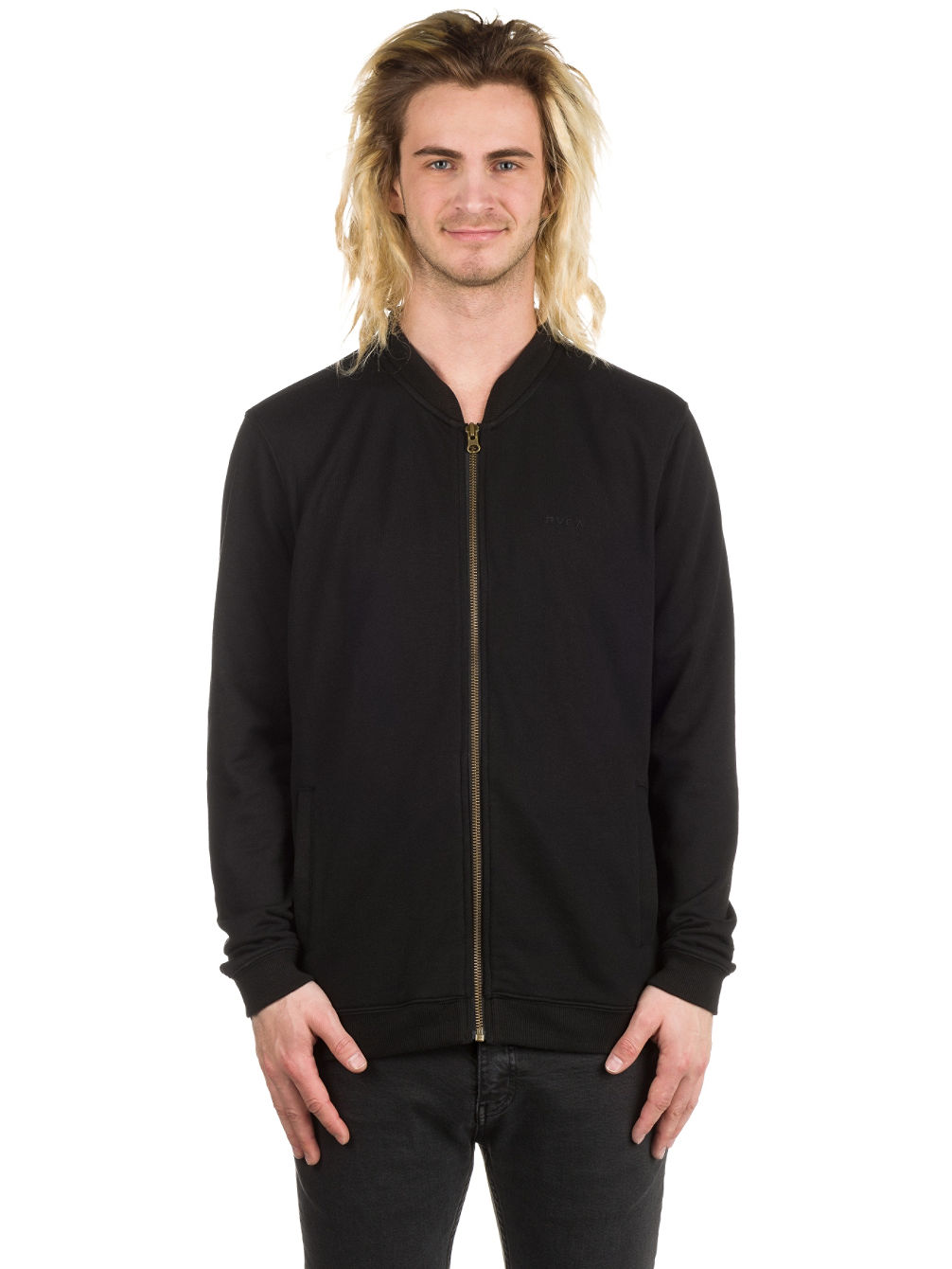 Zip Thru Bomber Jacket